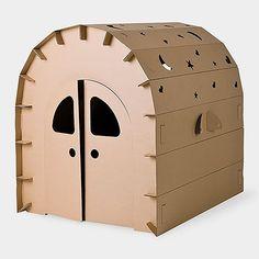 Buy Fun igloo High Grade Cardboard Playhouse at Mighty Ape Australia. Miley house resembling an igloo! Cardboard Box Crafts, Cardboard Playhouse, Cardboard Furniture, Kids Furniture, Forts En Carton, Kids Tents, Diy Toys, Play Houses, Handmade Toys