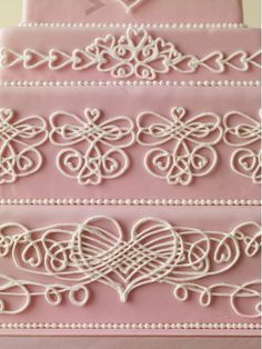 wedding cake piping templates how to pipe beautiful piped shell 23471