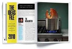 Feature spreads from The New York Times Magazine