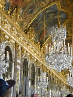 Versailles Hall of Mirrors