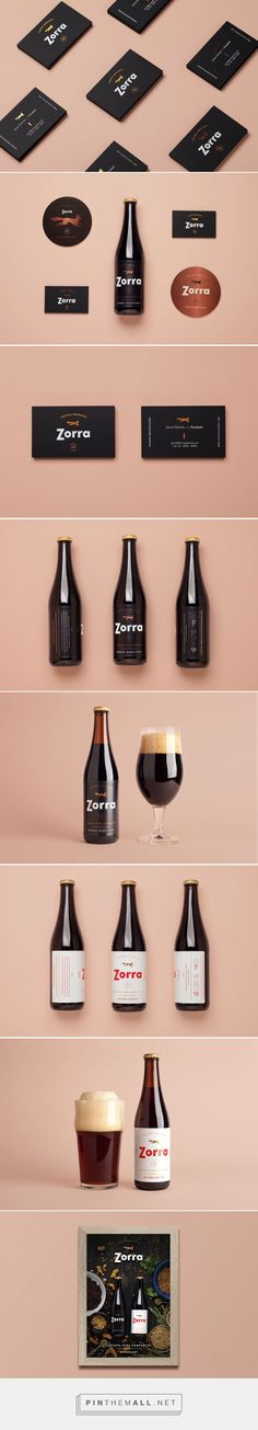 Branding and packaging for Mexican beer Zorra by Análogo