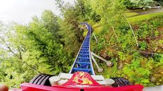 Speed Monster front seat on-ride HD POV TusenFryd