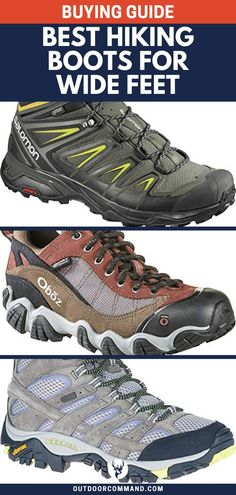 Best Hiking Boots for Wide Feet (Buying Guide) Best Hiking Gear, Best Hiking Boots, Hiking Boots Women, Men Hiking, Hiking Tips, Hiking Food, Camping Gear, Backpacking, Outdoor Gear