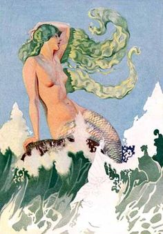 Coles Philips - 1926  Sirène