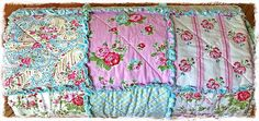 Rag Quilt Shabby Delilah and Sugar Hill by Tanya by Delilahkaye, $350.00