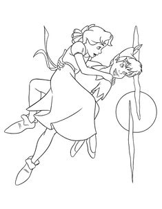 peter_pan_coloring_pages_003 - Coloring Pages ABC Kids Fun Page