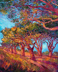 Scarlet Light II by Erin Hanson