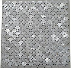 Amazon.com: 11PCS White Fish Scale Freshwater Shell Mosaic Tile Mother of Pearl Kitchen Backspalsh Tile Bathroom Tile Shower Wall Tiles TV Background Tile Home Improvement Fan Pattern: Home & Kitchen