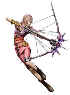 Serah - Evening Calm DLC Costume - Characters & Art - Final Fantasy XIII-2