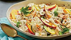 Summer Pasta Salad with Lime Vinaigrette Recipe | Southern Living