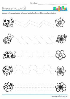 Crafts,Actvities and Worksheets for Preschool,Toddler and Kindergarten.Lots of worksheets and coloring pages. Tracing Worksheets, Kindergarten Worksheets, Worksheets For Kids, Pre Writing, Writing Skills, Educational Activities, Preschool Activities, Learning Numbers, Preschool Lessons