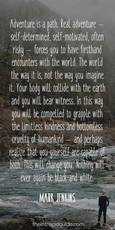 This is THE ULTIMATE list of travel quotes. Let wordsmiths like Stephen King & Mark Twain transport you around the world with the best travel quotes. Great Quotes, Quotes To Live By, Me Quotes, Inspirational Quotes, Nature Quotes, Star Quotes, Journey Quotes, Change Quotes, Spiritual Quotes
