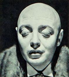 """Peter Lorre en """"Las Manos de Orlac"""", 1935"""