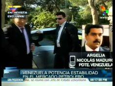 Presidente Nicolás Maduro en cadena nacional tras gira del petróleo. Venezuela, 17 enero 2015 - YouTube