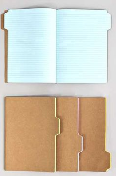These Tab Notebooks Make Idea Organization Simpler #school trendhunter.com