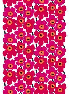 Marimekko Wallpaper, Marimekko Fabric, Flower Phone Wallpaper, Iphone Wallpaper, Canvas Fabric, Cotton Canvas, Cotton Fabric, Estilo Coco Chanel, Band Wallpapers