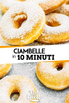Donuts Ready in 10 Minutes - Donuts - Krapfen Beignets, Cioppino Recipe, Baked Doughnuts, Donuts Donuts, Bar A Bonbon, Chef's Choice, Pecan Cake, Low Carb Bread, Galette