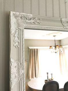 Shabby Chic Mirror Large Nursery Bathroom Vanity Baroque Wall Ornate