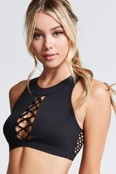 Product name: Low Impact - sports bra, category: active clothes, price: - sports and women Girl Fashion Style, Sport Fashion, Fitness Fashion, Woman Fashion, Womens Workout Outfits, Sporty Outfits, Style Sportif, Estilo Fitness, Workout Attire