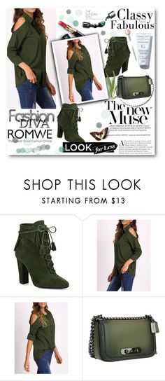 """Romwe - Contest"" by nedim-848 ❤ liked on Polyvore featuring Giuseppe Zanotti, Coach, Chanel and Dolce&Gabbana"