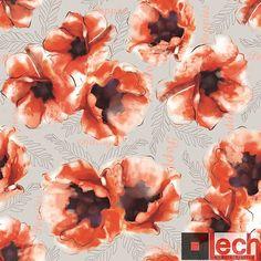 Maki :) Tkania z nadrukiem  Skład chemiczny: 100% PES Gramatura: 230 g/m2 Szerokość: 148 cm ± 2 cm Odporność na ścieranie: 35 000 cykli  #nadruk #tkanina #wzory #maki #kwiaty #fabric #lechmodernfabrics #flowers Zobacz inne wzory na http://www.lech-tkaniny.pl/oferta/nadruk-tkanin/nadruki/