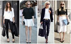 Couture Coaching: Style, trend , spring summer 2013, black & white // on the Kate Couture Blog // www.couturecoaching.com