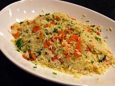 wedding buffet food - Rice Pilaf