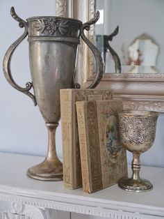 Love this trophy.  pinned by www.cedarhillfarmhouse.com