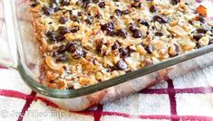 Magic Cookie Bars - Low Carb, Keto, THM S