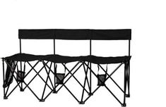 The TravelChair TravelBench El Grande and is the perfect solution for instant group seating at outdoor concerts, campgrounds and tailgate parties. Cushions For Sale, Chairs For Sale, Folding Camping Chairs, Wicker Sofa, Rv Living, Love Seat, The Originals, Tailgate Parties, Concerts