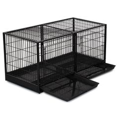 ProSelect Steel Modular Cage with Plastic Tray, Black ** Quickly view this special  product, click the image (This is an amazon affiliate link. I may earn commission from it)