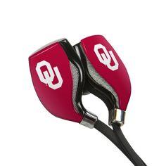 Oklahoma Sooners HX-200 Bluetooth¨ Earbuds with Budbag