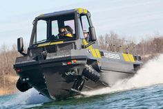 Gibbs Amphibious Truck, Awesome! - BuyAutoParts.com