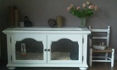 Image result for DIY rabbit hutch out of old dresser