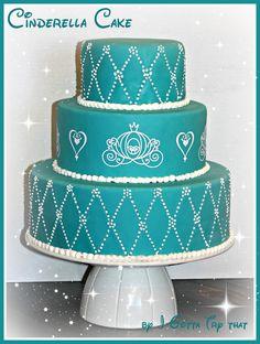 Cinderella Wedding Cake