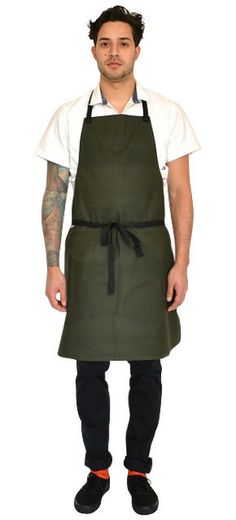 STALWART APRON | Chef wear by Tilit: chef coats, chef pants, aprons, work-shirts, custom workwear, server uniforms, made in USA chef gear.