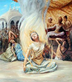 HiNDU GOD: Goddess Sati