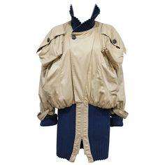 Vivienne Westwood  unisex oversized 'Clint Eastwood' bomber jacket, c. 1990s