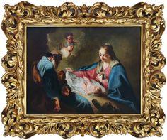 Svatá rodina Siena, Painting, Frames, Paintings, Draw, Drawings