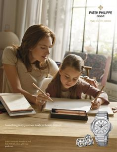 PATEK PHILIPPE SA - Product Advertising - conveying luxury and intergenerational continuity so well