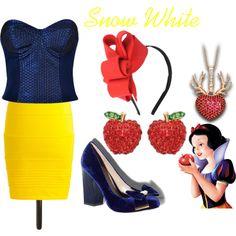 """Glam Disney: Snow White"" by melissa-rostek on Polyvore"