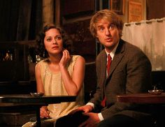 Midnight in Paris - Publicity still of Marion Cotillard & Owen Wilson. The image measures 843 * 1000 pixels and was added on 28 August Midnight In Paris, Paris Movie, Owen Wilson, Marion Cotillard, Woody Allen, Jazz Age, The Great Gatsby, Screenwriting, Metal Working
