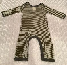 Burts Bees Baby Girl Organic 2 Bubble Rompers Size 3-6 Months Pink Mint Green