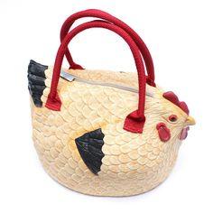 aeb99b3b334 Chicken Bag   Original Yellow Rubber Purse Handbag from PIQ Chanel Handbags,  Fashion Handbags,