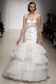 Classically gorgeous kenneth pool 2013 Bridal Shows Spring/Summer