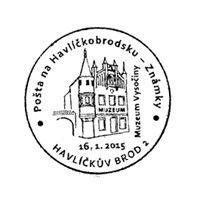 Tschechischer Sonderstempel zur postgeschichtlichen Ausstellung in Havlíčkův Brod