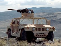 US M1097A2 HMMWV with what I assume is a lightened M242 Bushmaster 25mm chain-gun.
