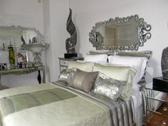 oh my this color scheme! Bedroom - Decor by Instyle Indulgence Interiors
