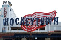 This is Hockeytown.