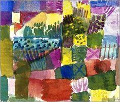Paul Klee - Südlicher Garten